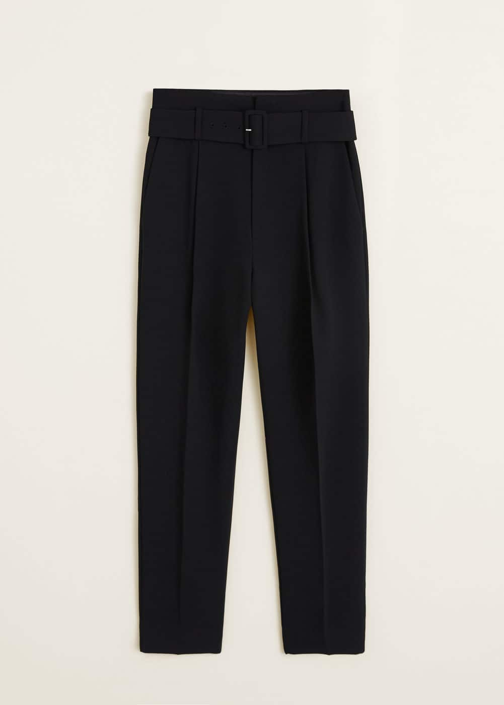 Mango - Belt high-waist trousers - 7