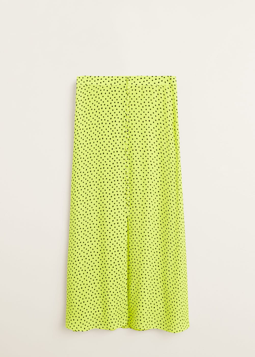 774417cd29 Shoptagr | Polka Dots Midi Skirt by Mango