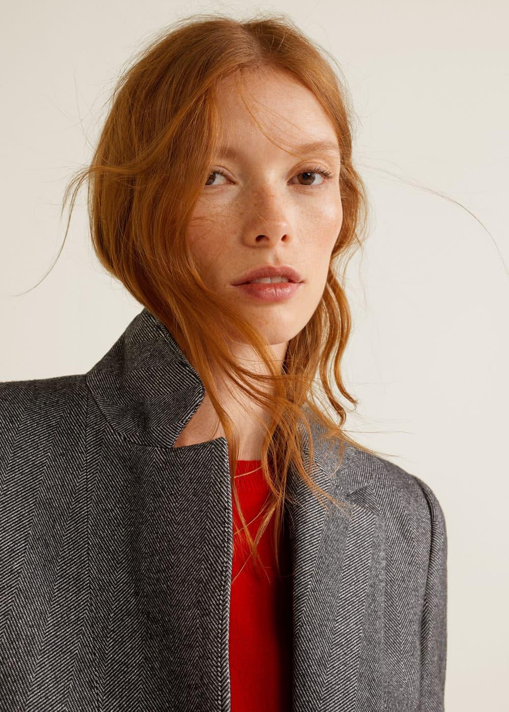Mango - Flecked suit blazer - 1
