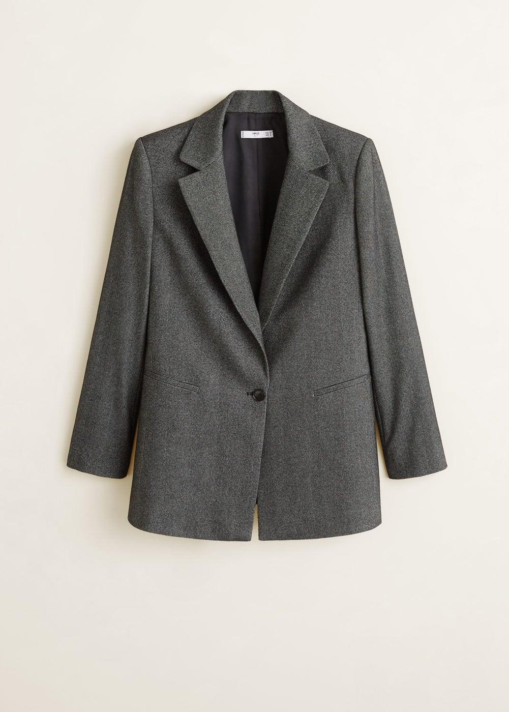 Mango - Flecked suit blazer - 7