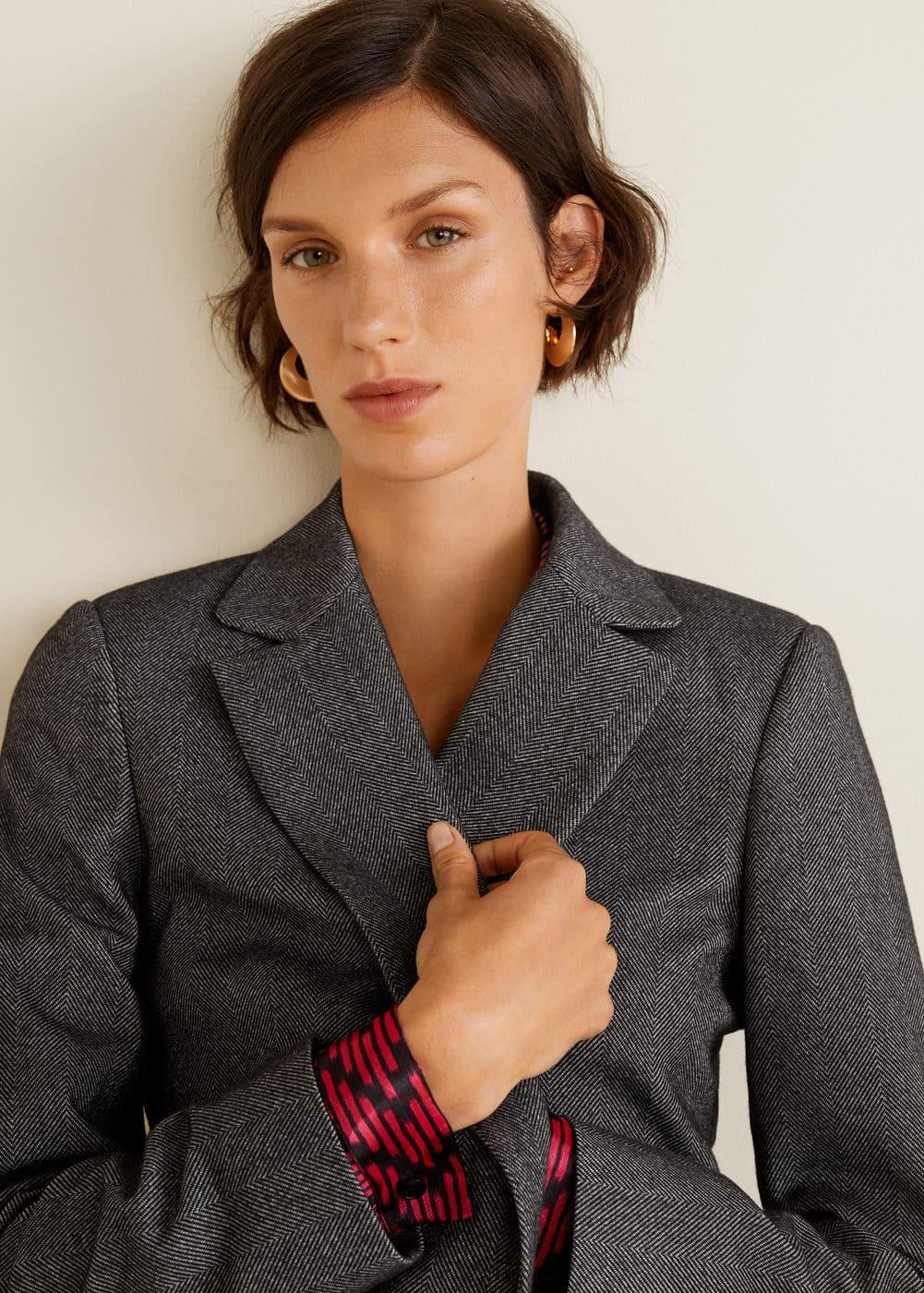 Mango - Flecked suit blazer - 5