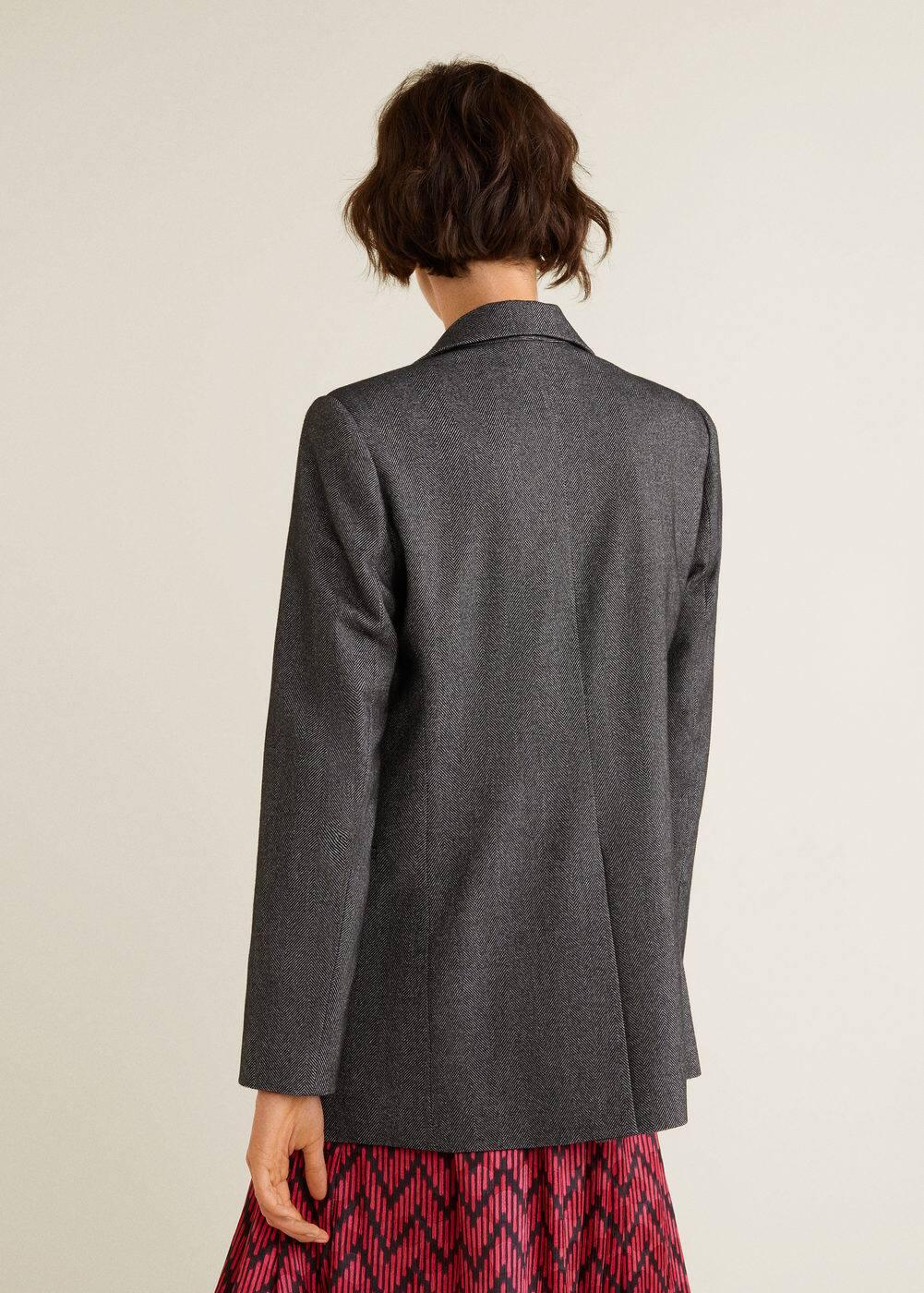 Mango - Flecked suit blazer - 3