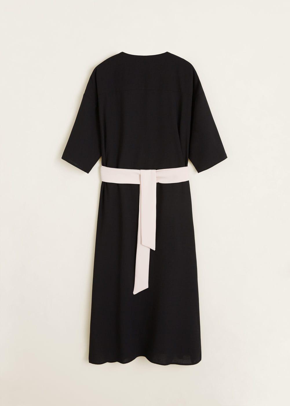 Mango - Bow bicolor dress - 8