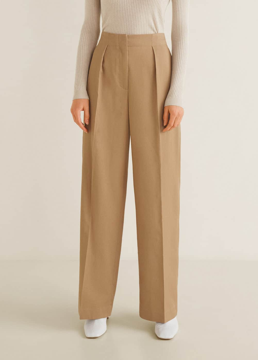 Pantalon Tissu Soft by Mango
