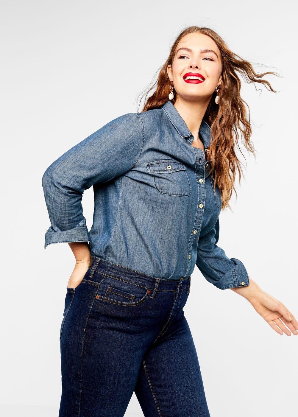 Mango - Slim-fit Susan jeans - 5