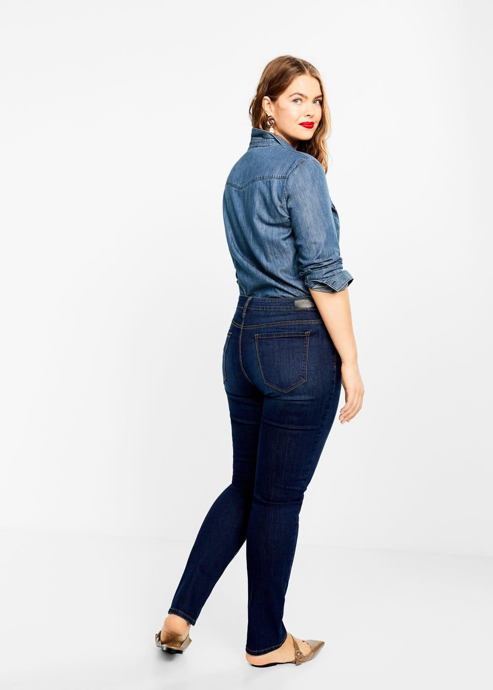 Mango - Slim-fit Susan jeans - 3
