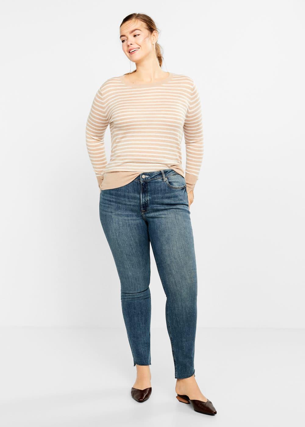 46ac498c9e2f Τζιν παντελόνι slim mariah - Μεγάλα μεγέθη