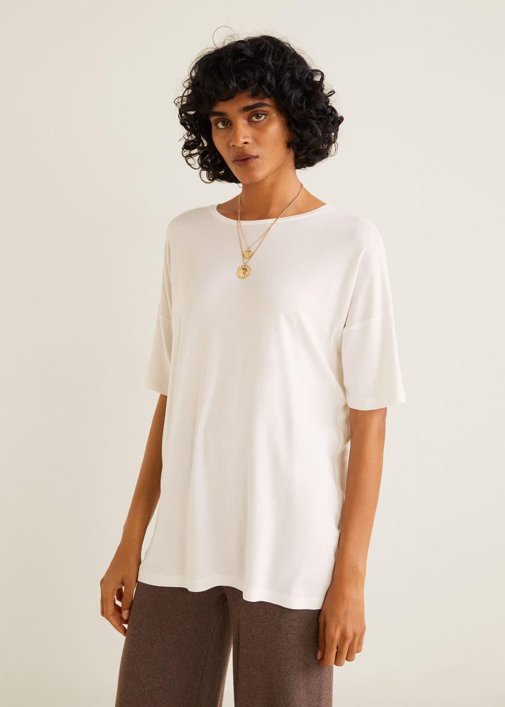 Mango - Camiseta básica - 1