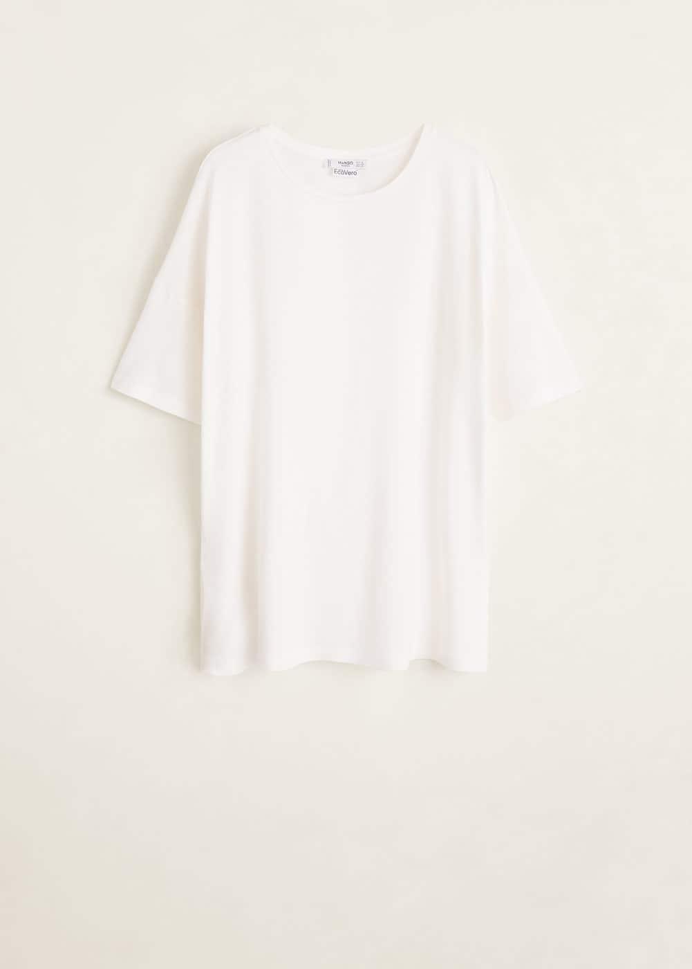 Mango - Camiseta básica - 5