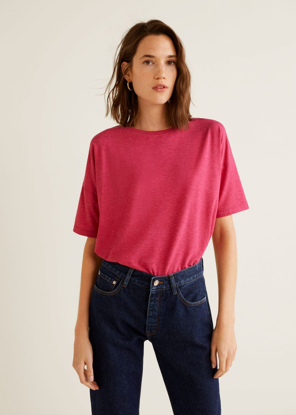 Mango - Basic t-shirt - 1