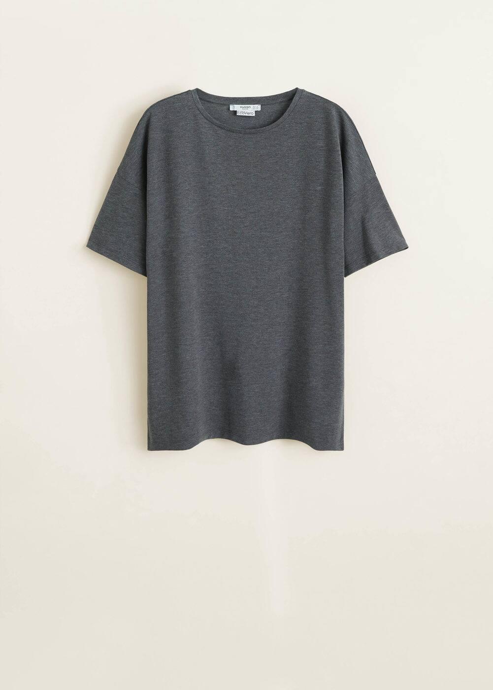 Mango - Basic t-shirt - 5