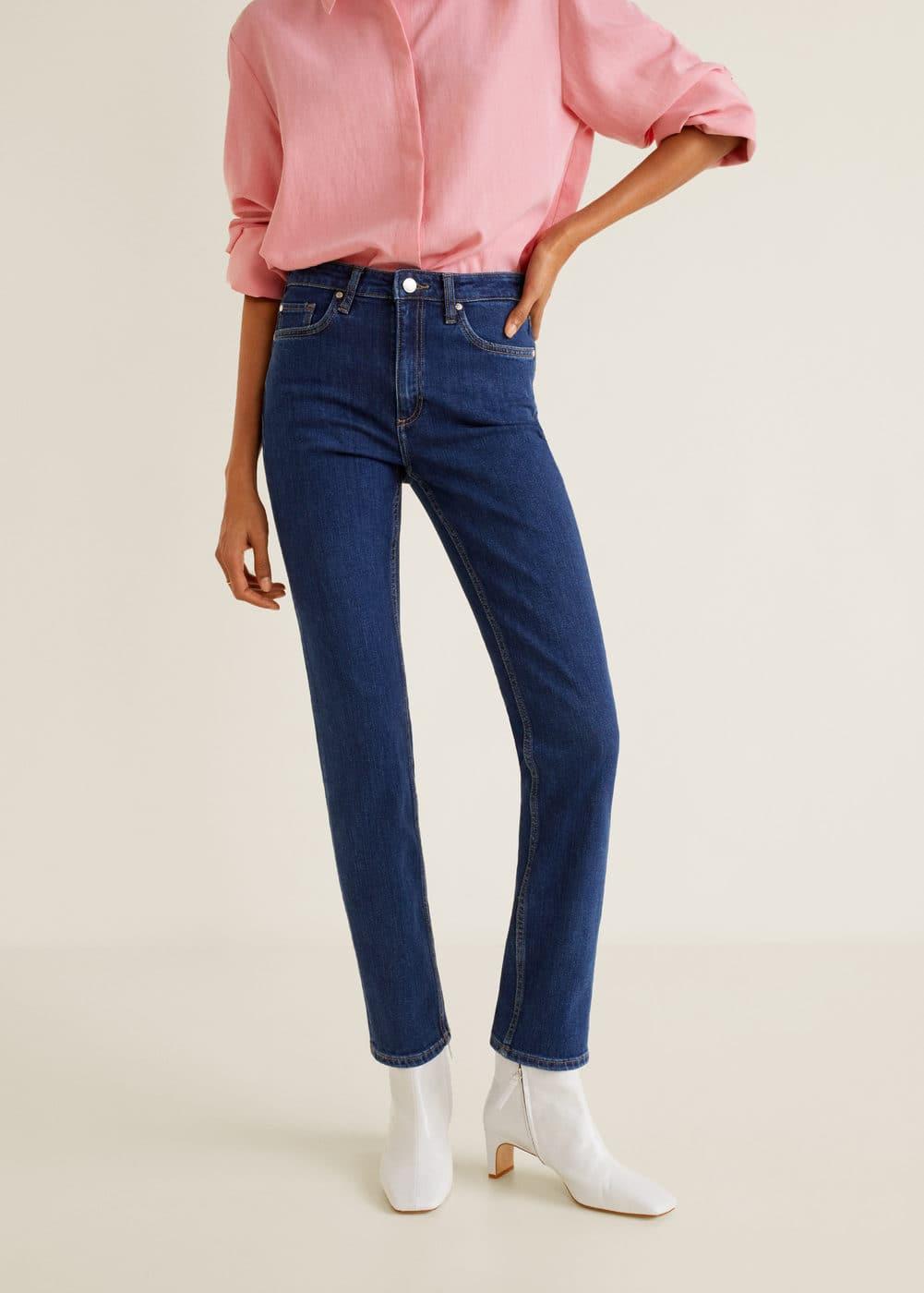 Mango - Straight jeans Anna - 1