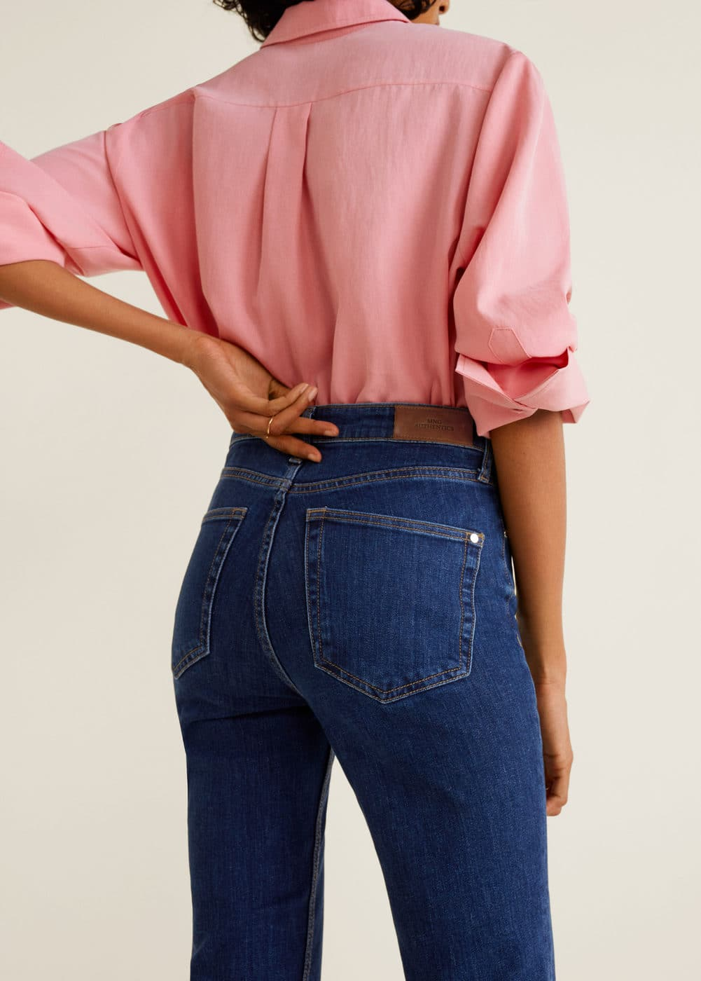 Mango - Straight jeans Anna - 6