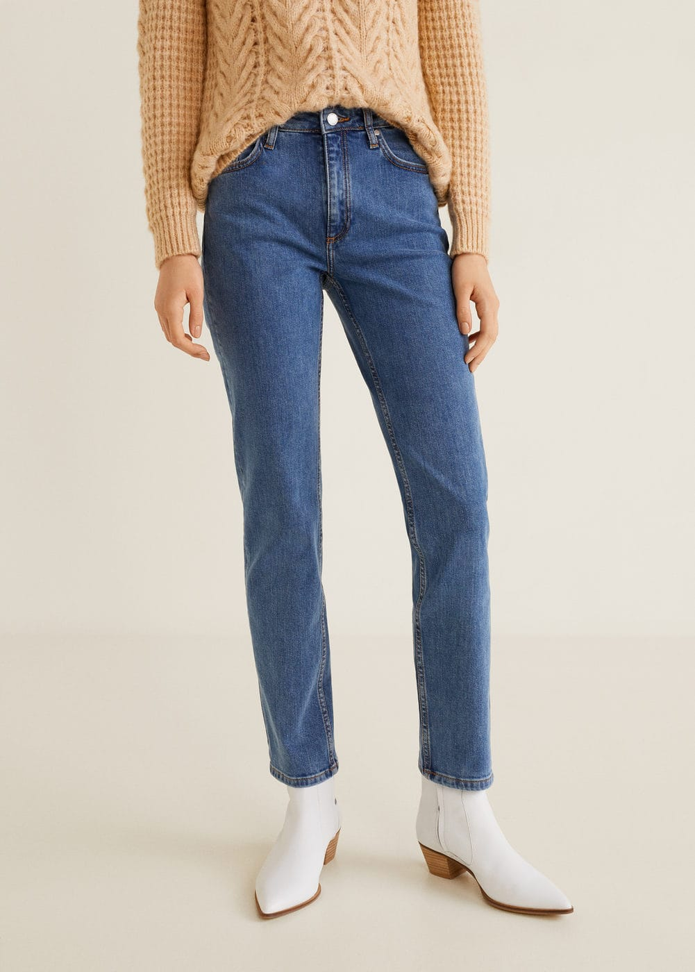 Mango - Jeans straight Anna - 1