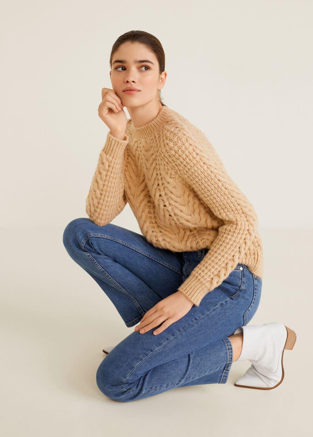 Mango - Jeans straight Anna - 4