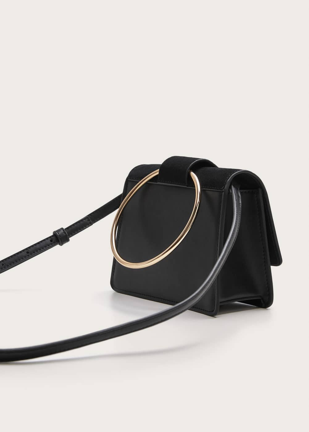 Ring Flap Bag   Plus Sizes | Violeta By Mango Usa by Bloomingdale's