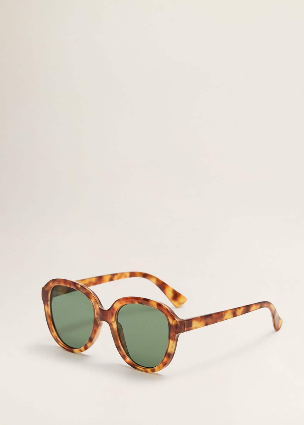 Tortoiseshell Oversize Sunglasses by Mango