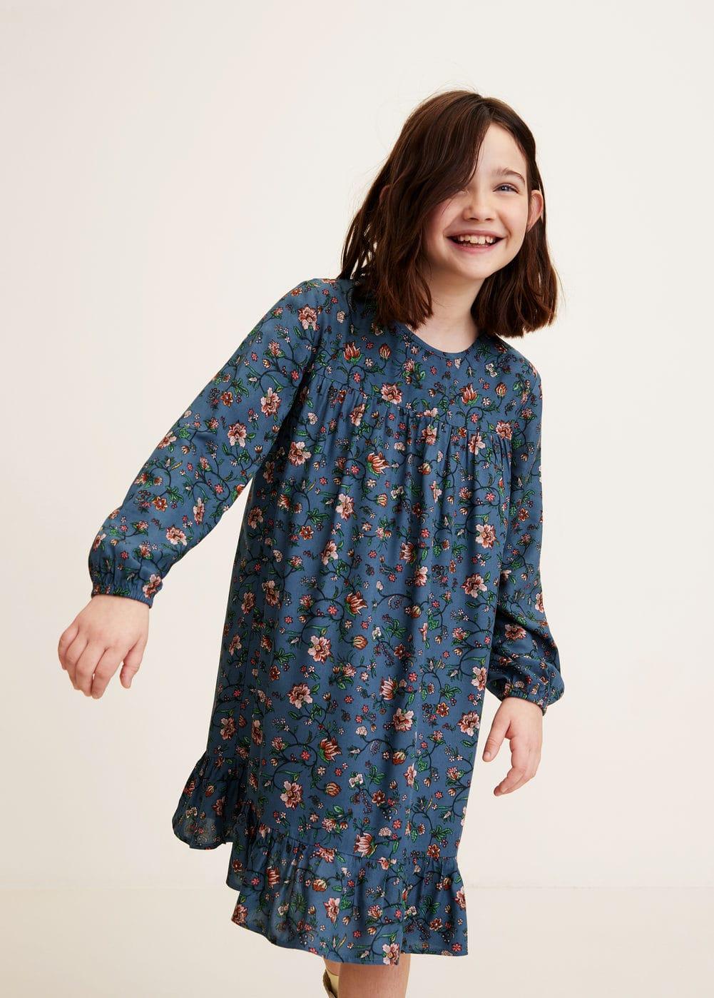 Mango - Kleid mit Blumendruck - 1
