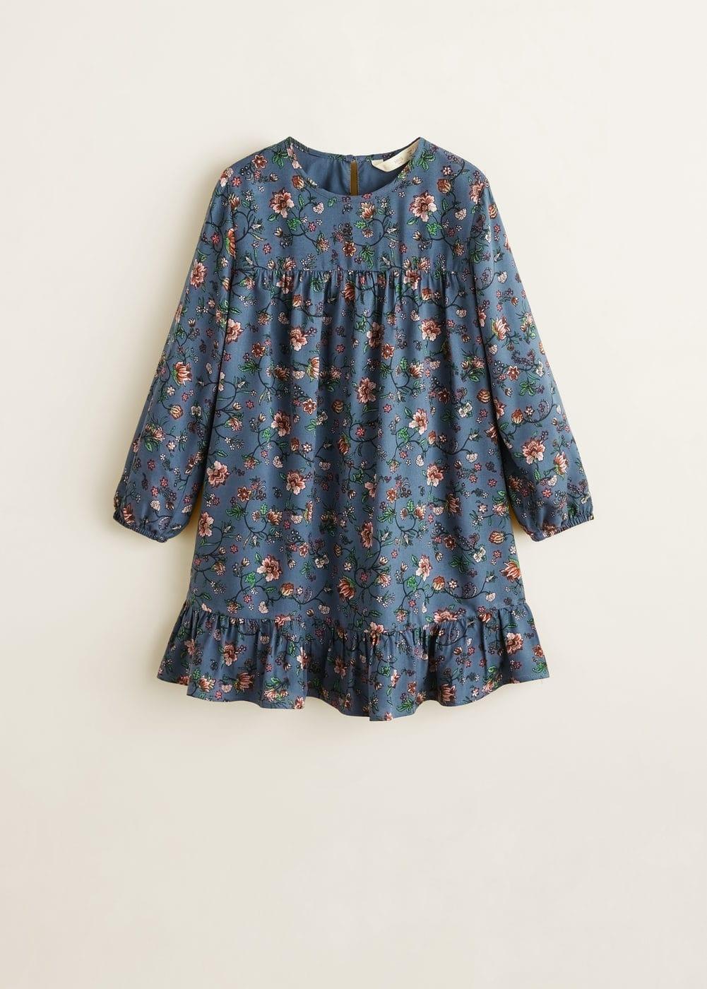 Mango - Kleid mit Blumendruck - 3