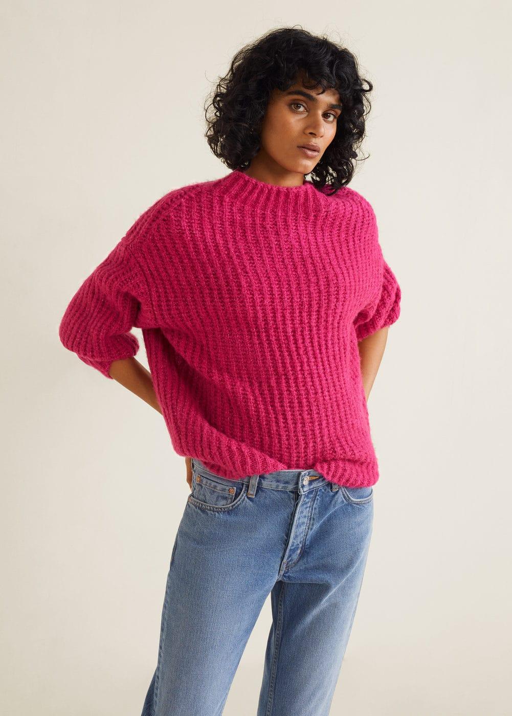 Mango - Chunky-knit sweater - 1