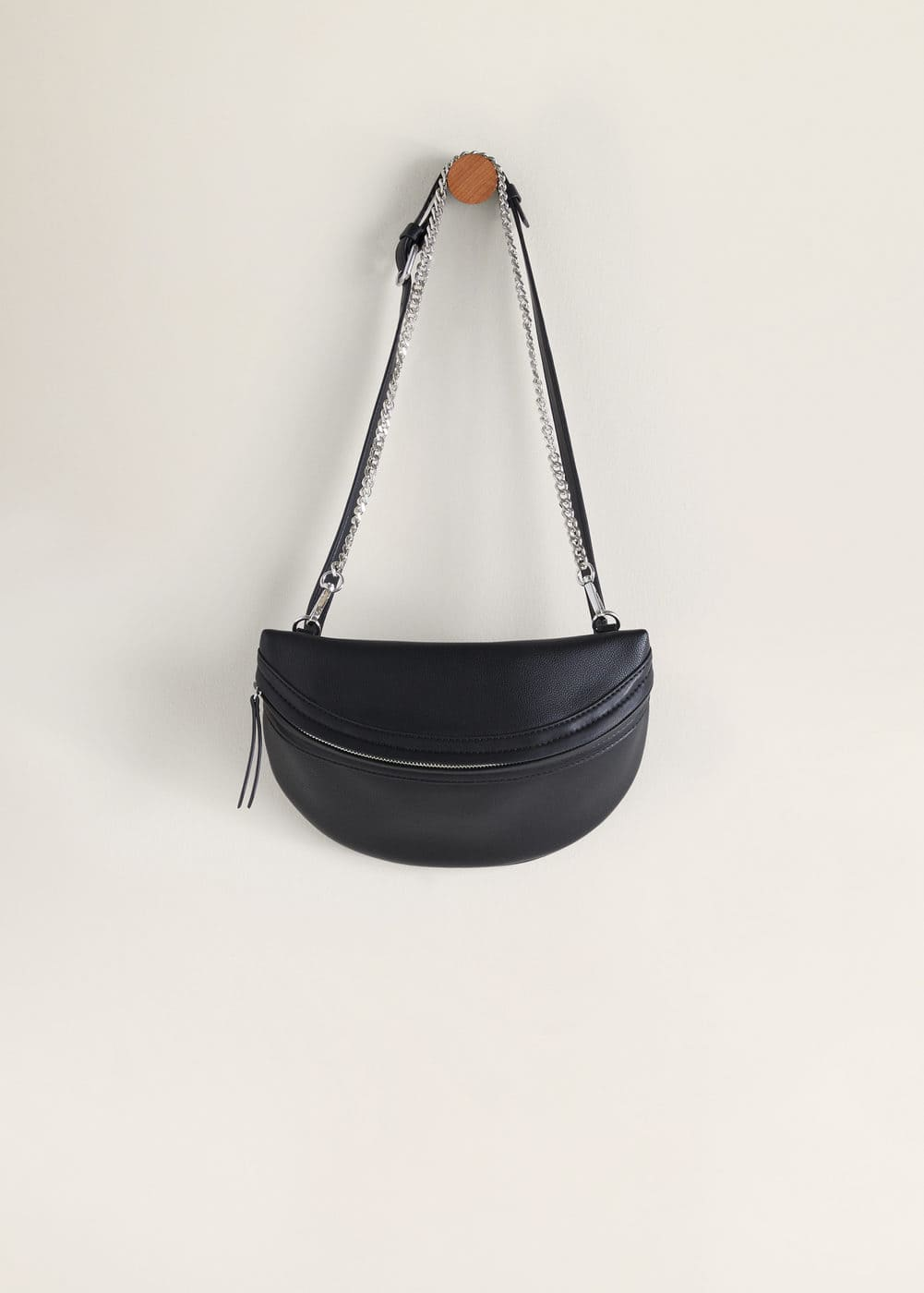 77b6d0d04d Chain crossbody belt bag
