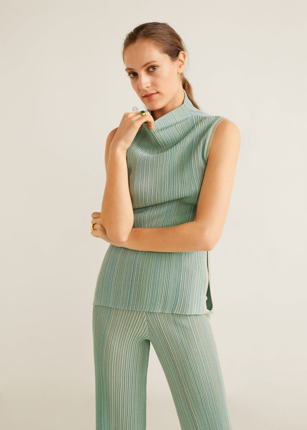 Top Coste Righe by Mango