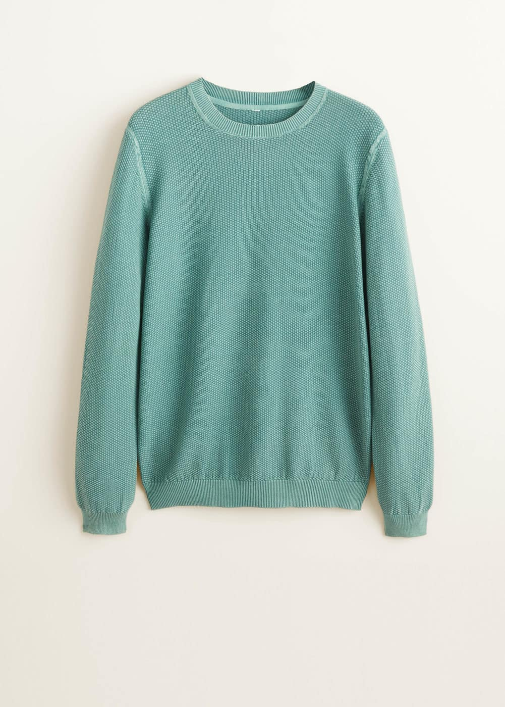 Mango - Structured cotton sweater - 5