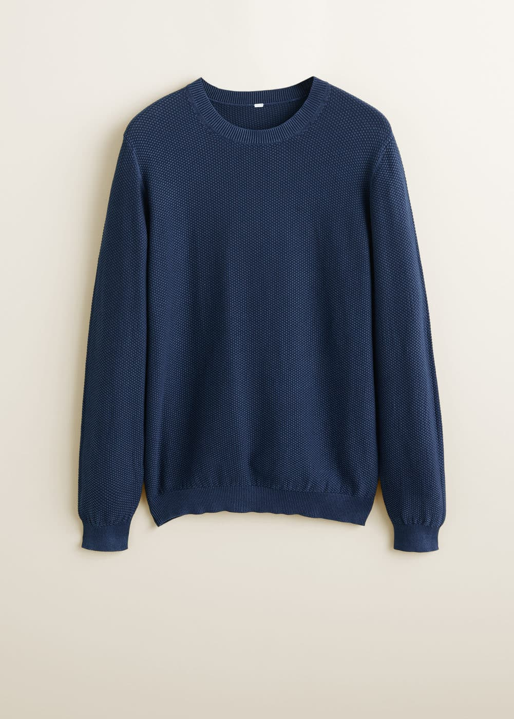 Mango - Structured cotton sweater - 6
