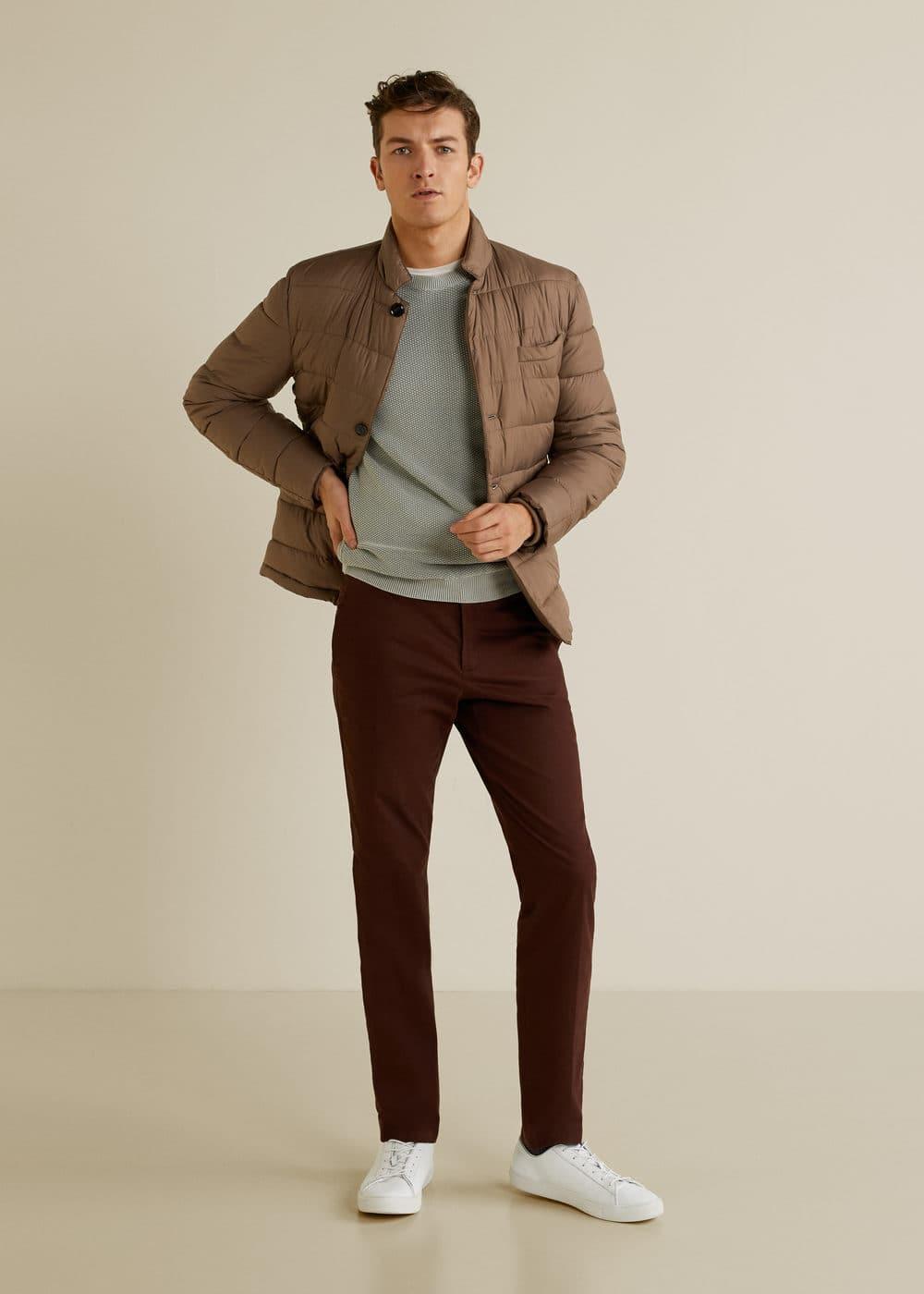 Mango - Structured cotton sweater - 1