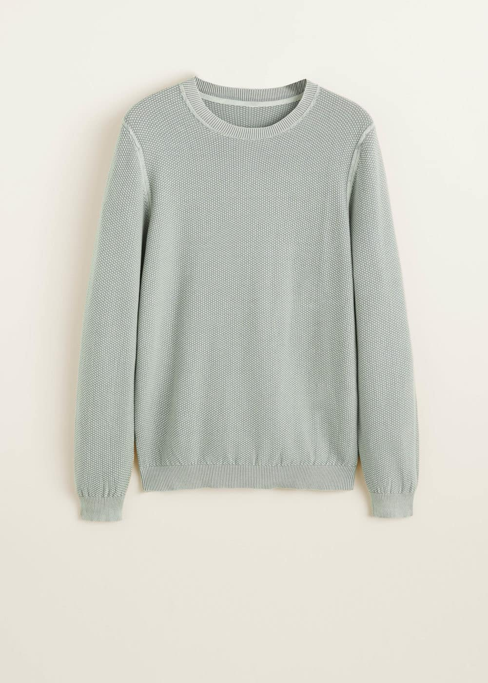 Mango - Structured cotton sweater - 5