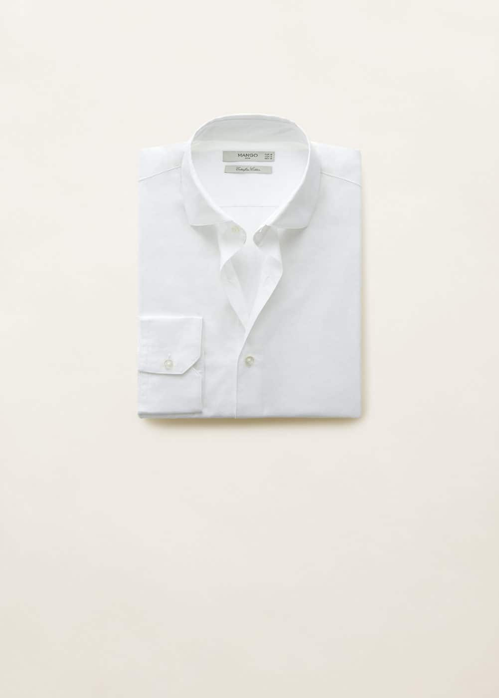 Mango - Camisa slim-fit algodón - 6
