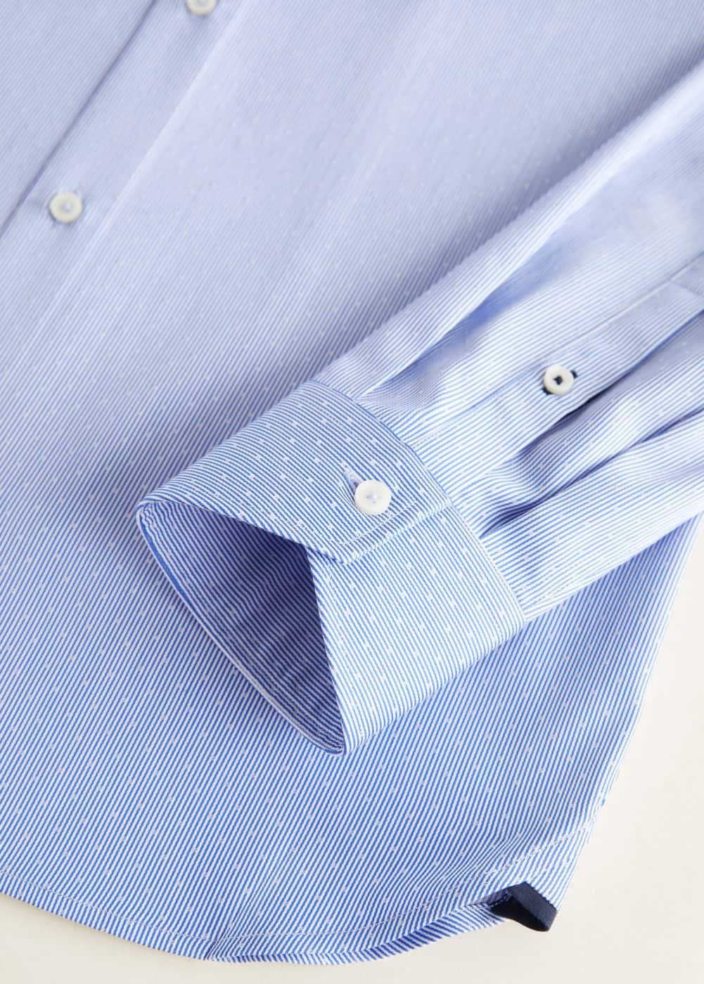 Mango - Camisa Tailored slim fit algodón - 6