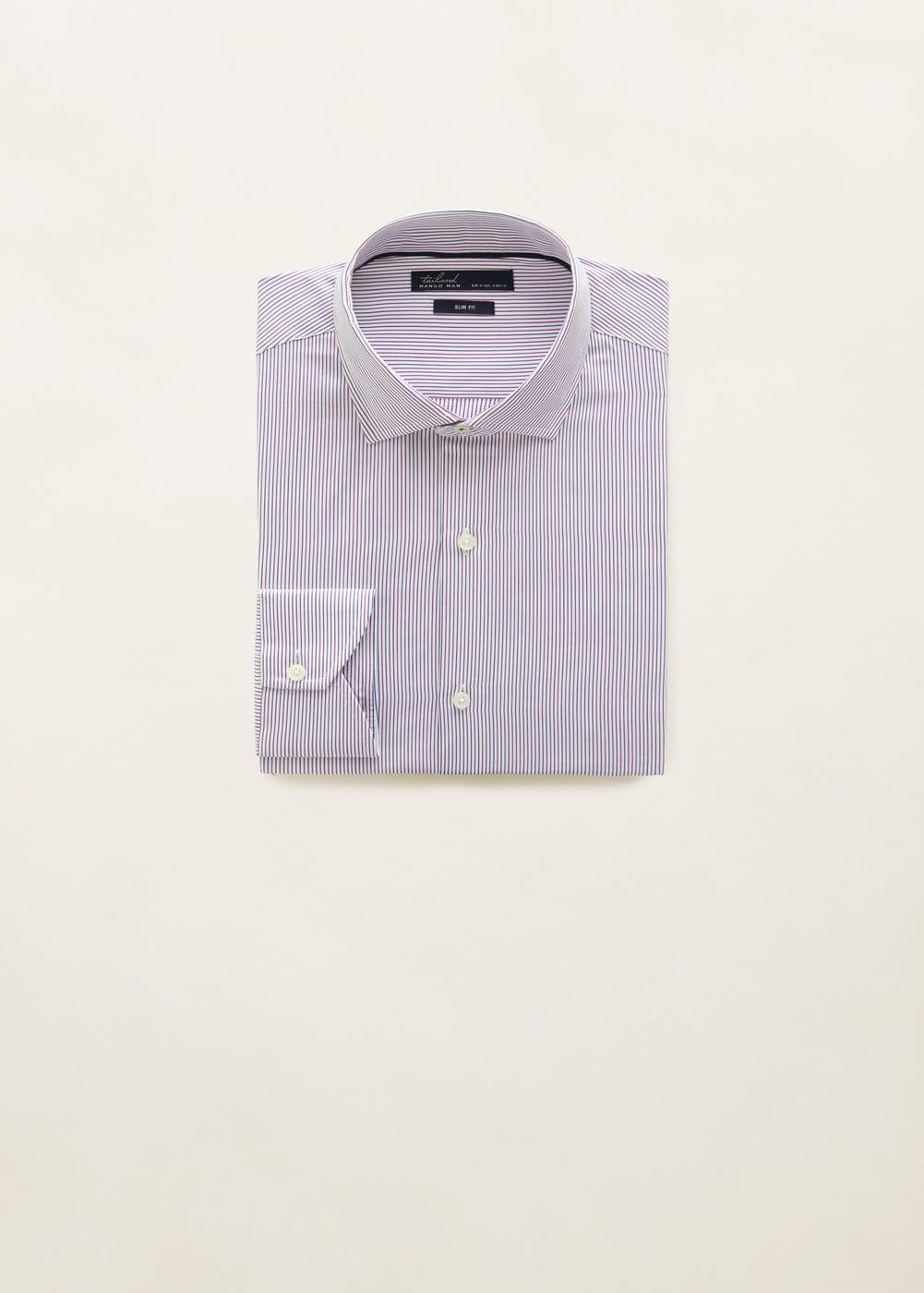 Mango - Camisa Tailored slim-fit mil rayas - 7