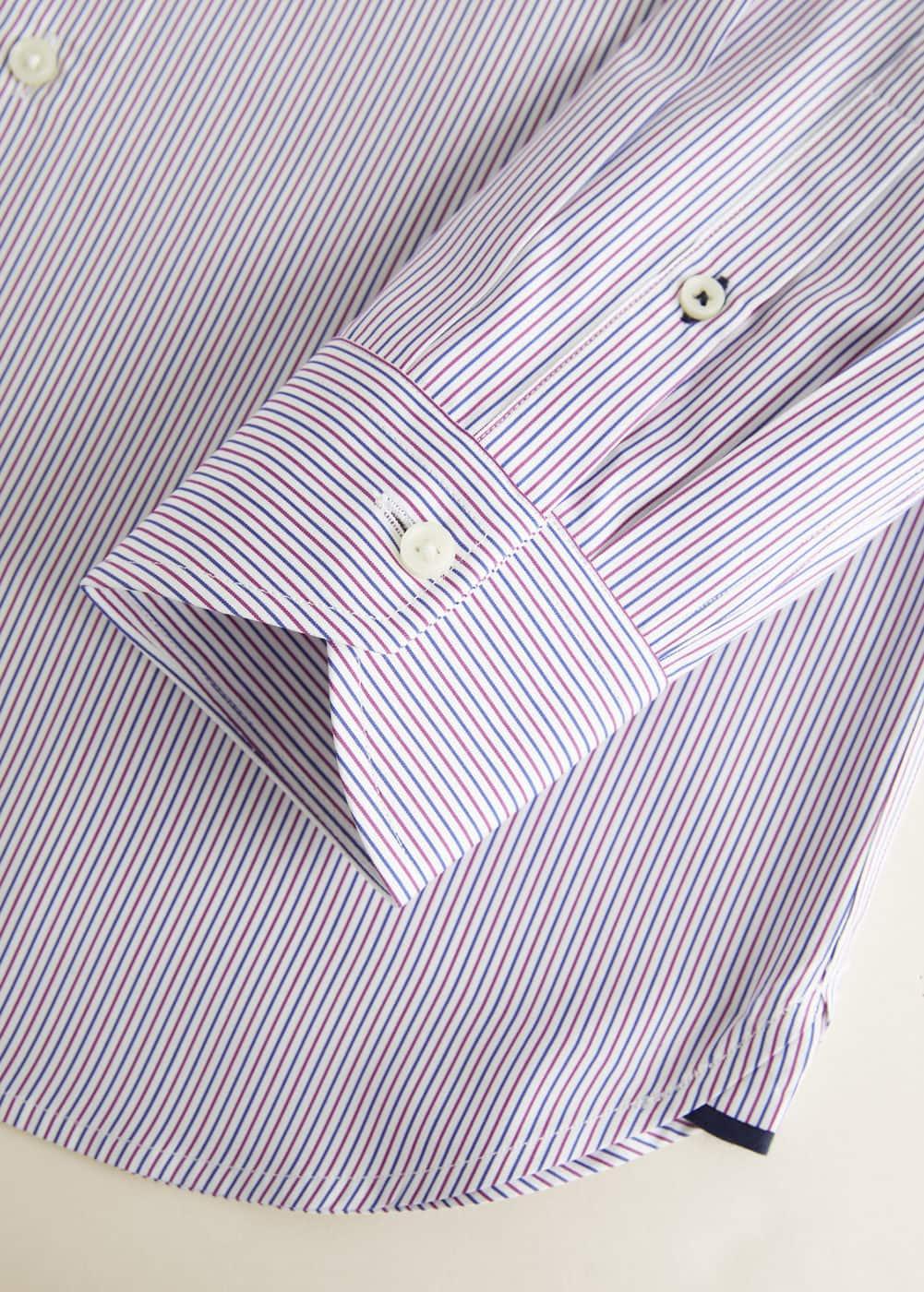 Mango - Camisa Tailored slim-fit mil rayas - 6