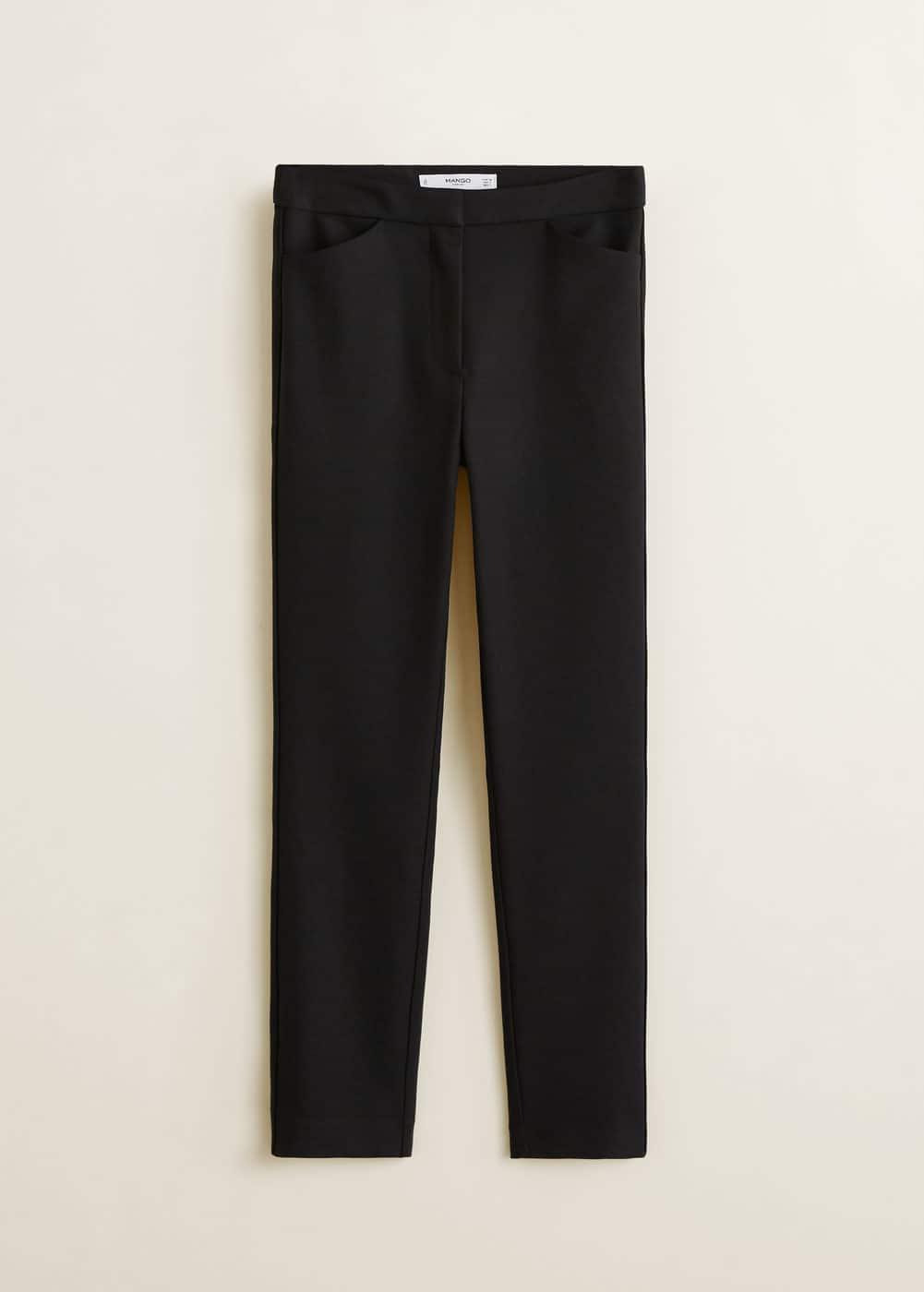 Mango - Pantalón pitillo traje - 5