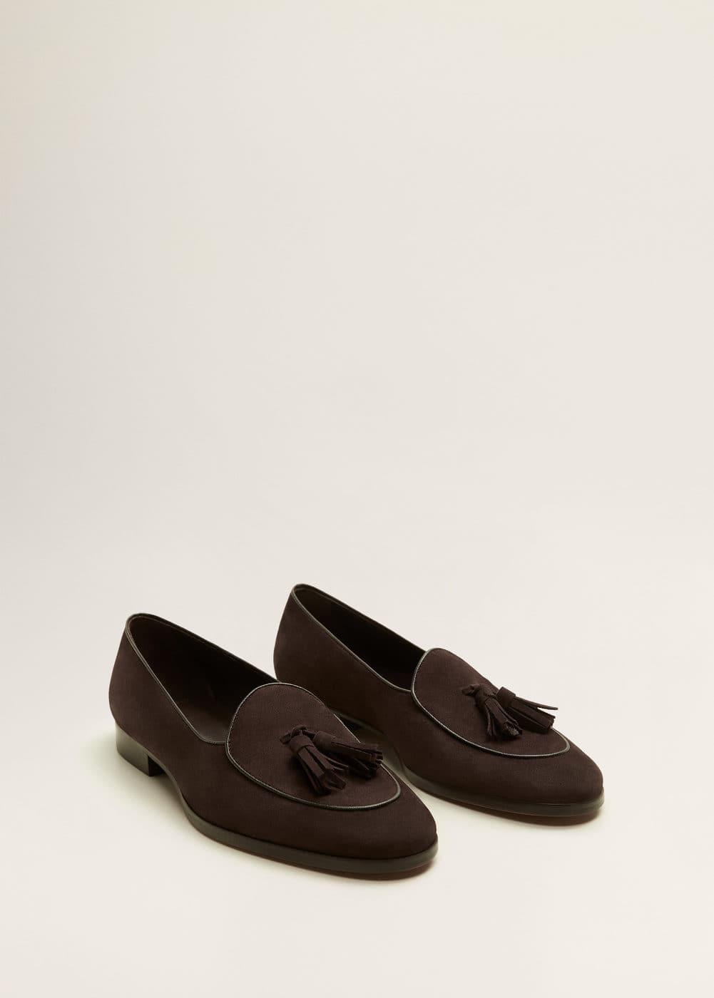 Mango - Tassel suede loafers - 2