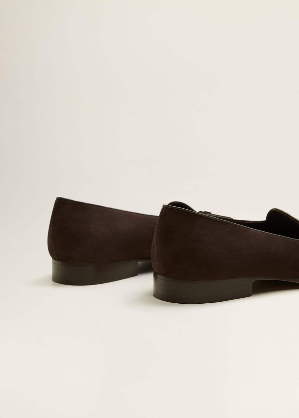 Mango - Tassel suede loafers - 3