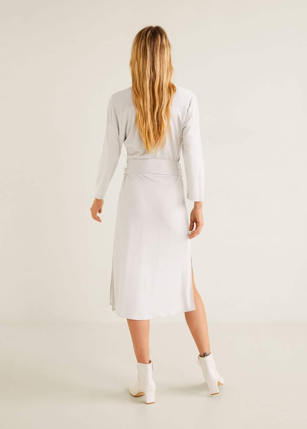 Mango - Kleid mit Taillenabnähern - 3