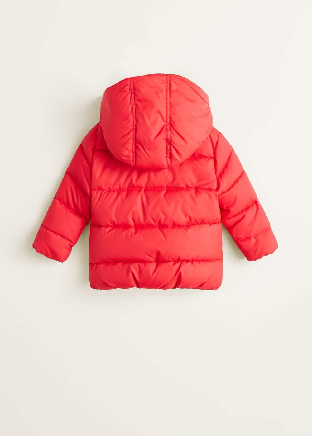 Mango - Hood quilted coat - 2
