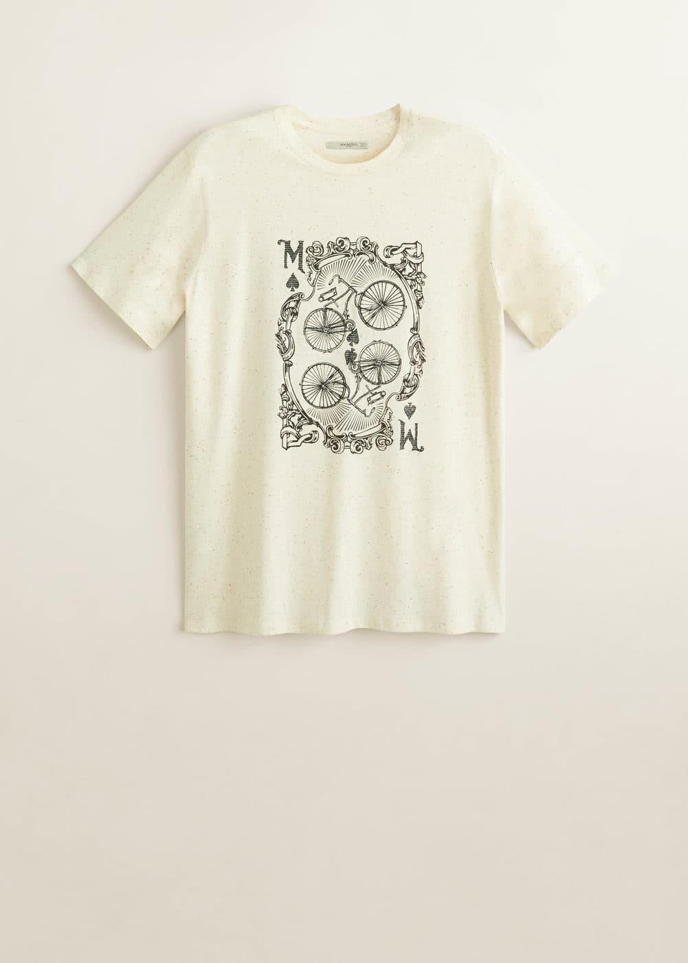 Mango - Camiseta algodón dibujo - 5