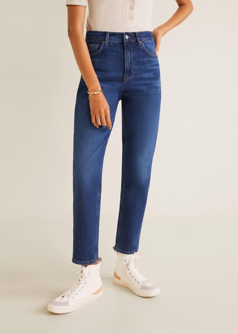 New Mom Slim Jeans by Mango