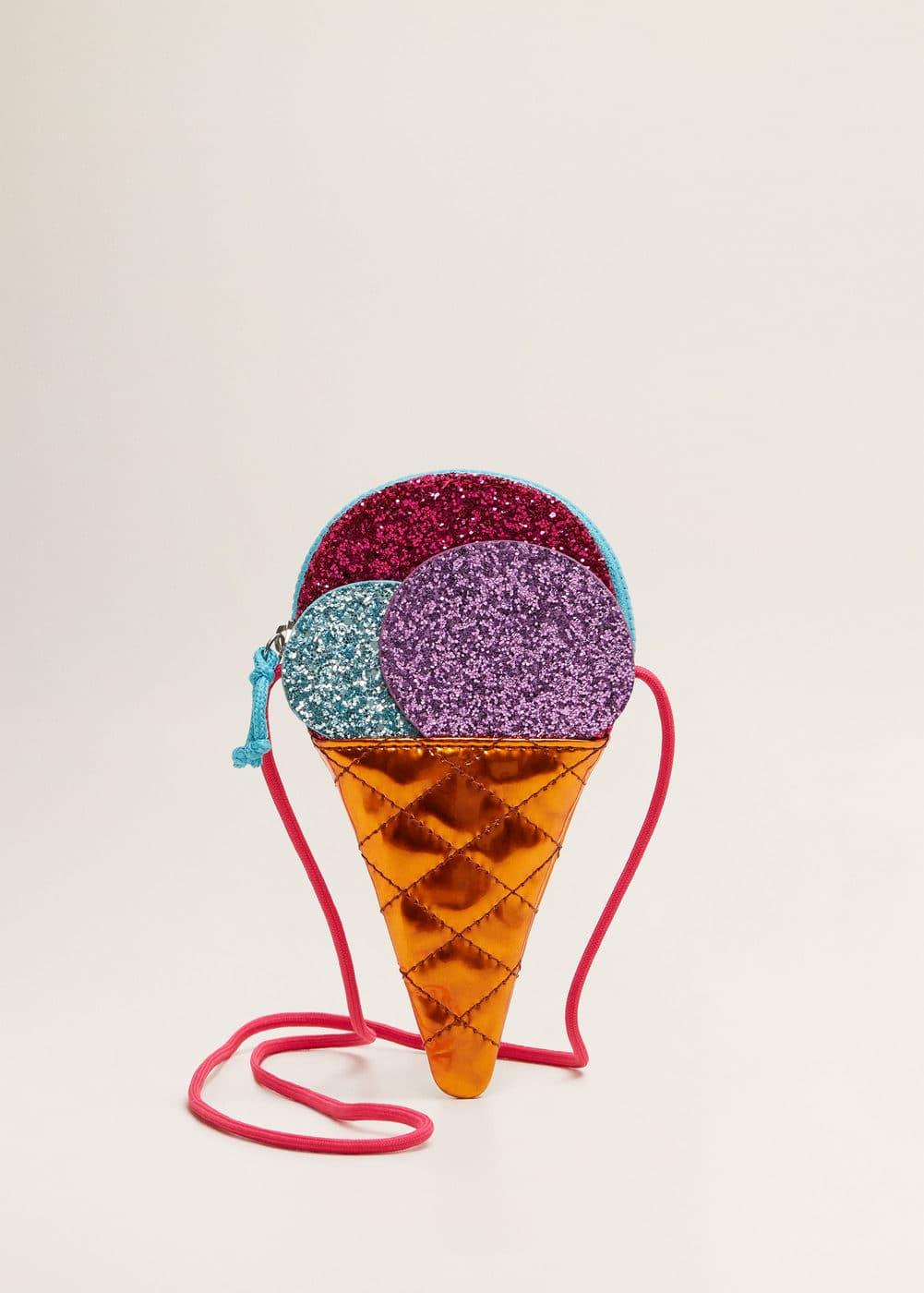 Mango - Glitter ice-cream bag - 1