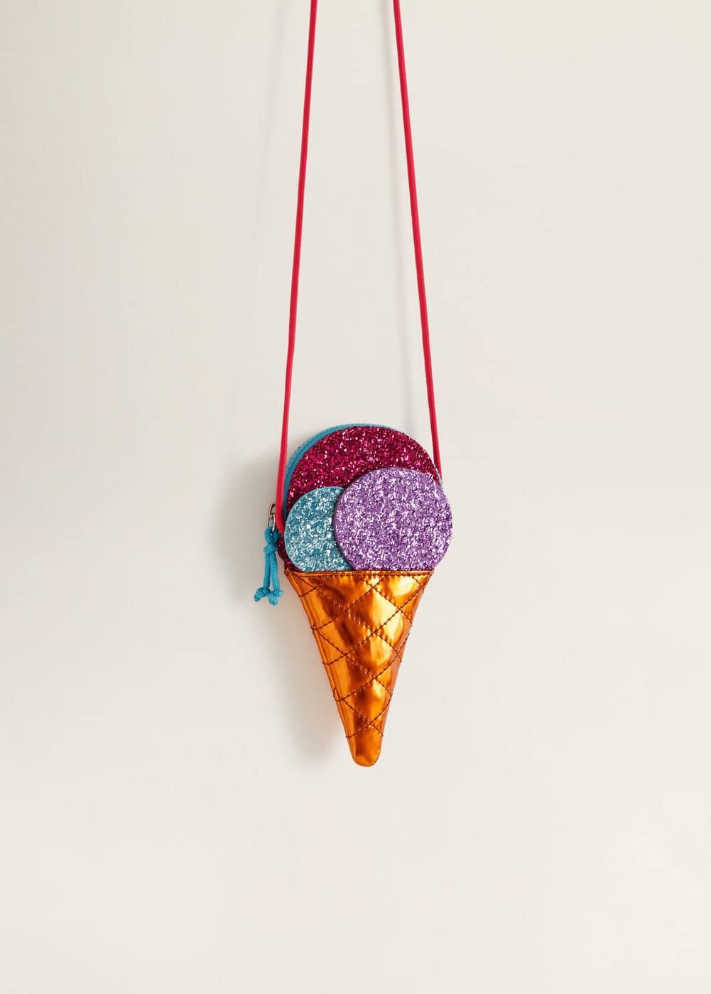 Mango - Glitter ice-cream bag - 4
