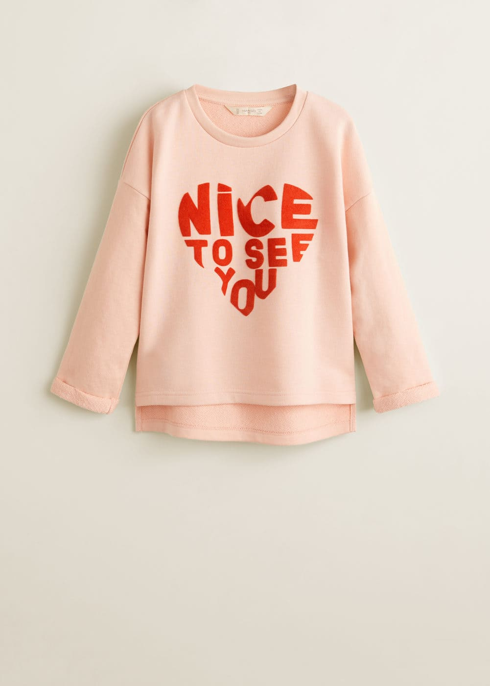 Mango - Cotton-blend printed sweatshirt - 3