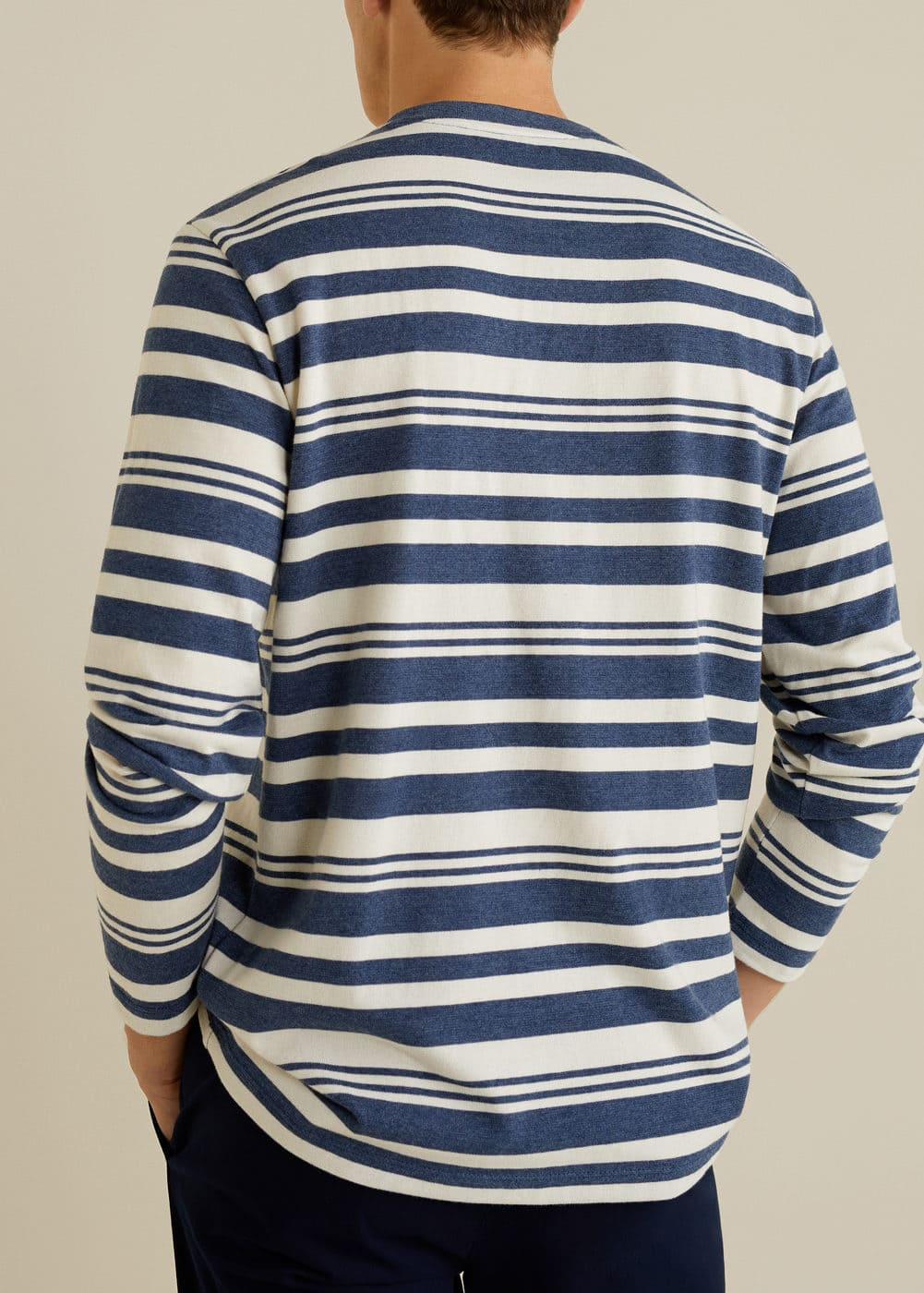 Mango - Striped cotton t-shirt - 3