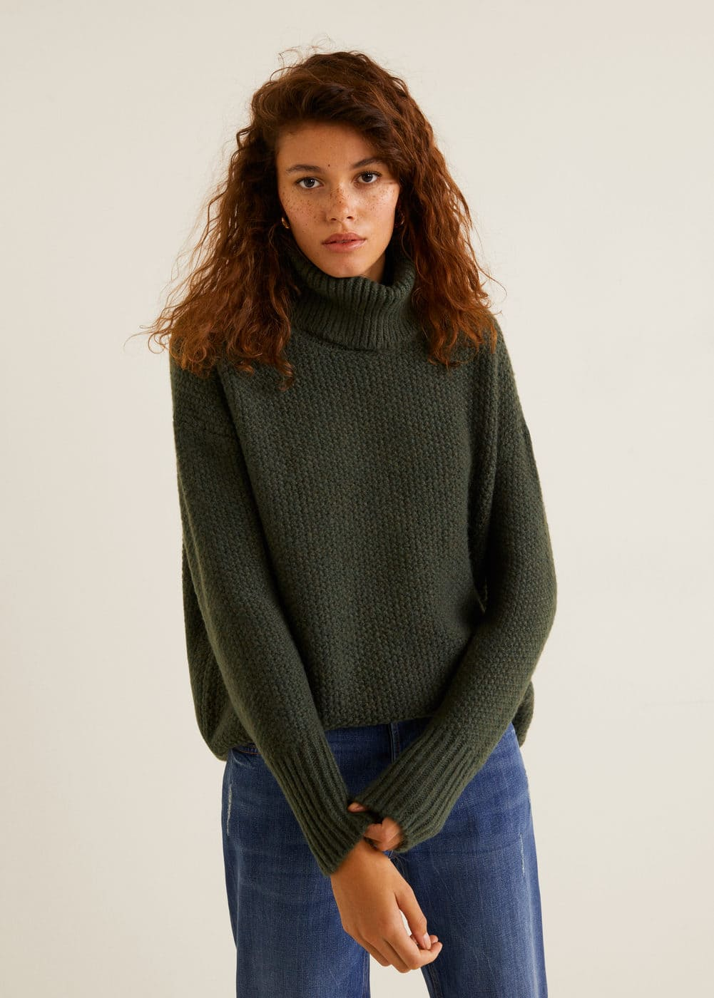 Pull Over Polyester Recyclé by Mango