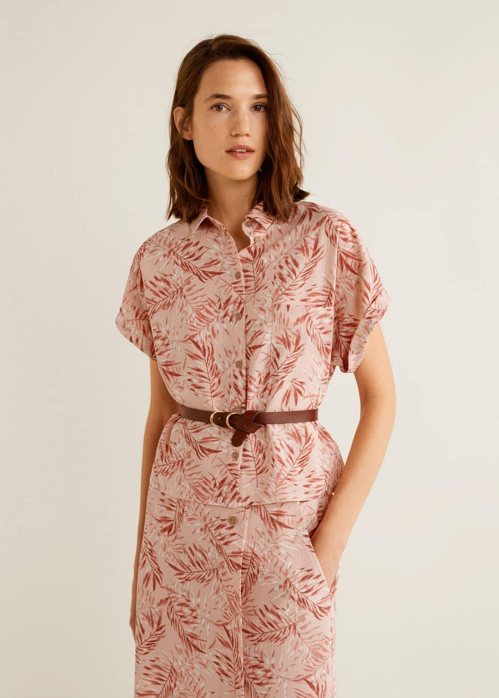 Mango - Camisa estampada - 1
