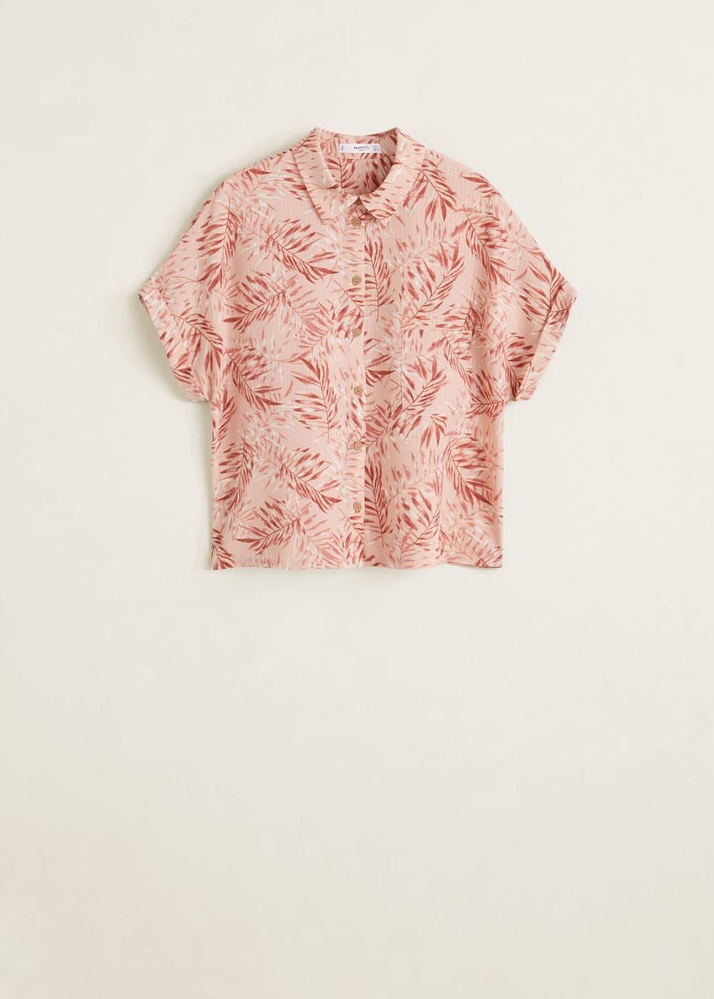 Mango - Camisa estampada - 6