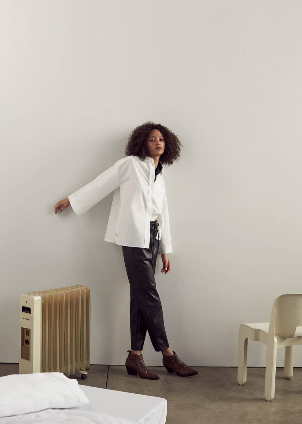 Mango - Adjustable waist trousers - 1
