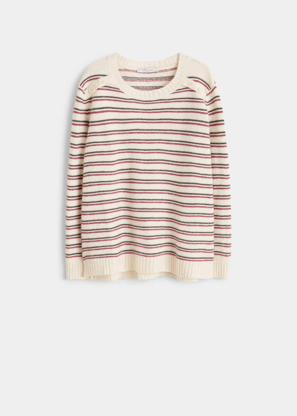 Mango - Knit striped sweater - 5